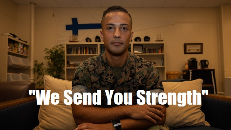 We Send You Strength | How one 3rd MLG Marine's story affected the lives of the Marines around him